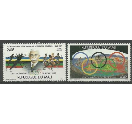 Znaczek Mali 1988 Mi 1106-1107 Czyste **