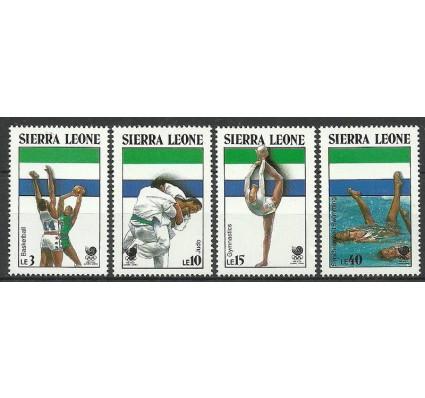 Znaczek Sierra Leone 1988 Mi 1092-1095 Czyste **
