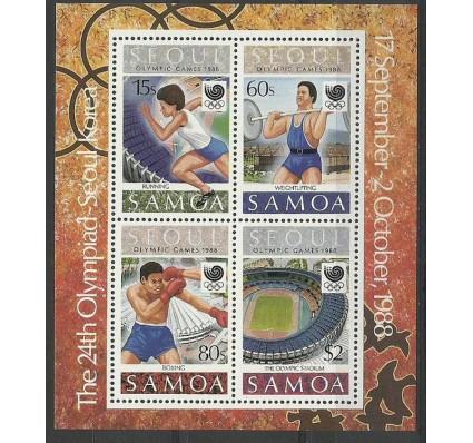 Znaczek Samoa 1988 Mi bl 44 Czyste **