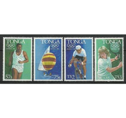 Znaczek Tonga 1988 Mi 1027-1030 Czyste **