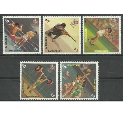 Znaczek Bangladesz 1988 Mi 278-282 Czyste **