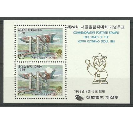 Znaczek Korea Południowa 1988 Mi bl 547 Czyste **