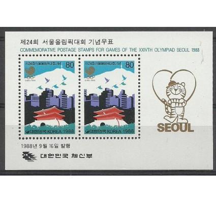 Znaczek Korea Południowa 1988 Mi bl 548 Czyste **