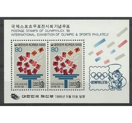 Znaczek Korea Południowa 1988 Mi bl 550 Czyste **