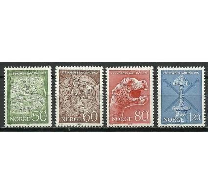 Znaczek Norwegia 1972 Mi 639-642 Czyste **