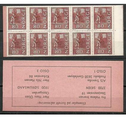 Znaczek Norwegia 1970 Mi mh 633 Czyste **