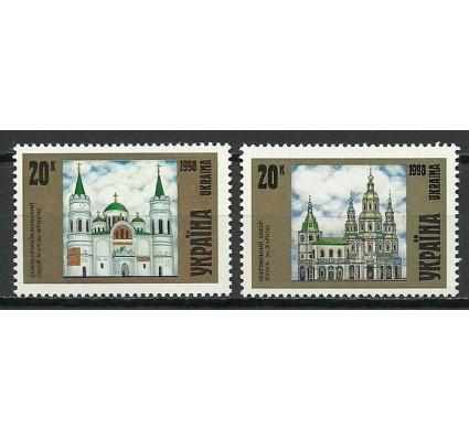 Znaczek Ukraina 1998 Mi 280-281 Czyste **