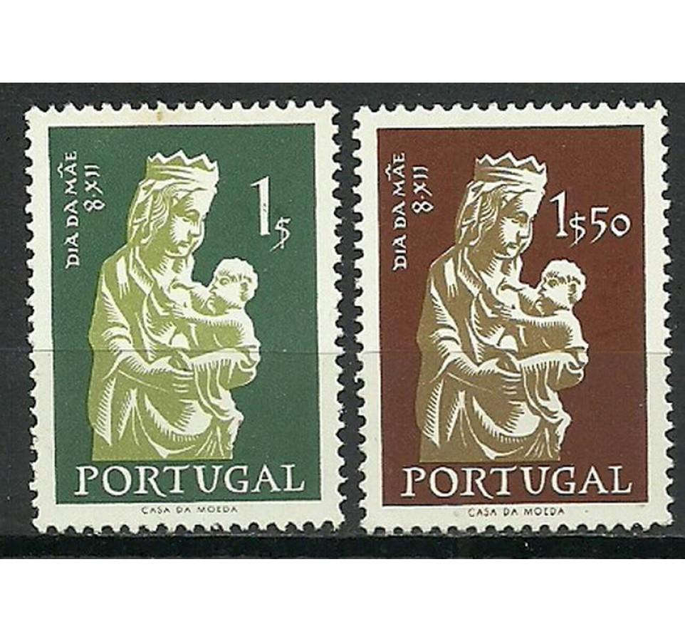 Portugalia 1956 Mi 854-855 Czyste **