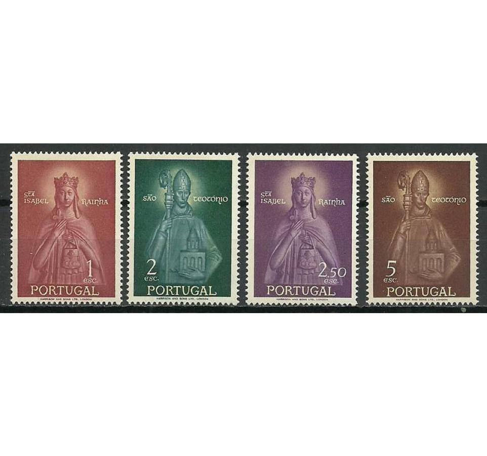 Portugalia 1958 Mi 864-867 Czyste **