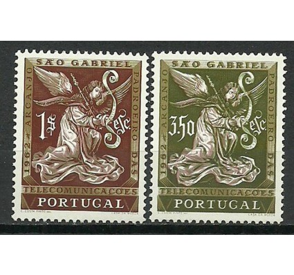 Znaczek Portugalia 1962 Mi 915-916 Czyste **