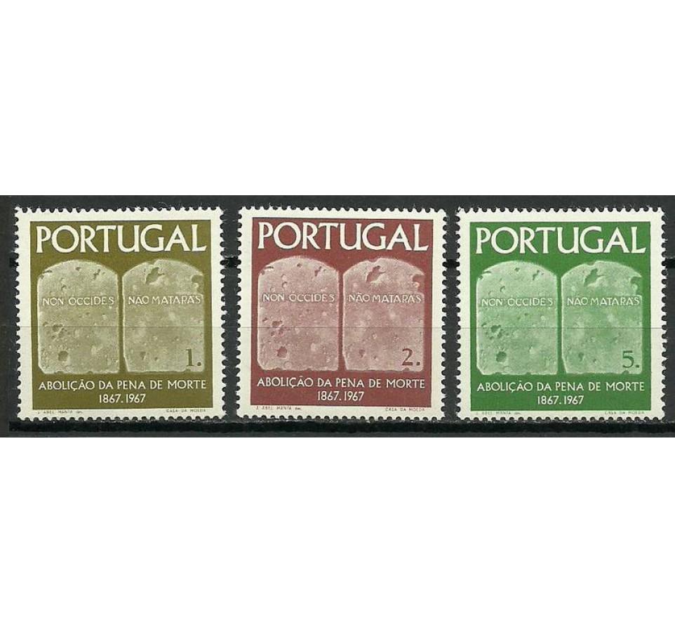 Portugalia 1967 Mi 1046-1048 Czyste **