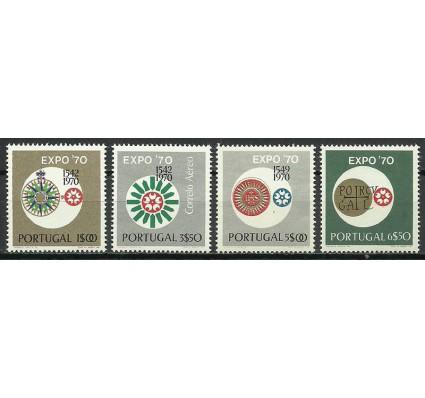 Znaczek Portugalia 1970 Mi 1105-1108 Czyste **