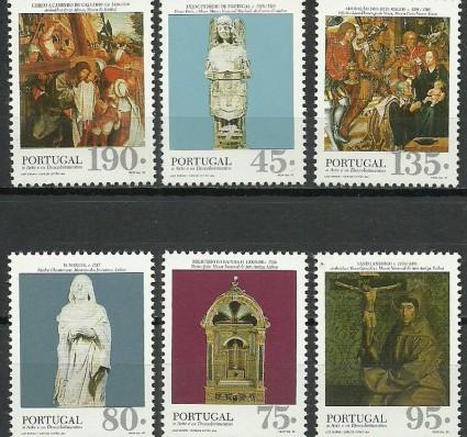 Znaczek Portugalia 1995 Mi 2100-2105 Czyste **