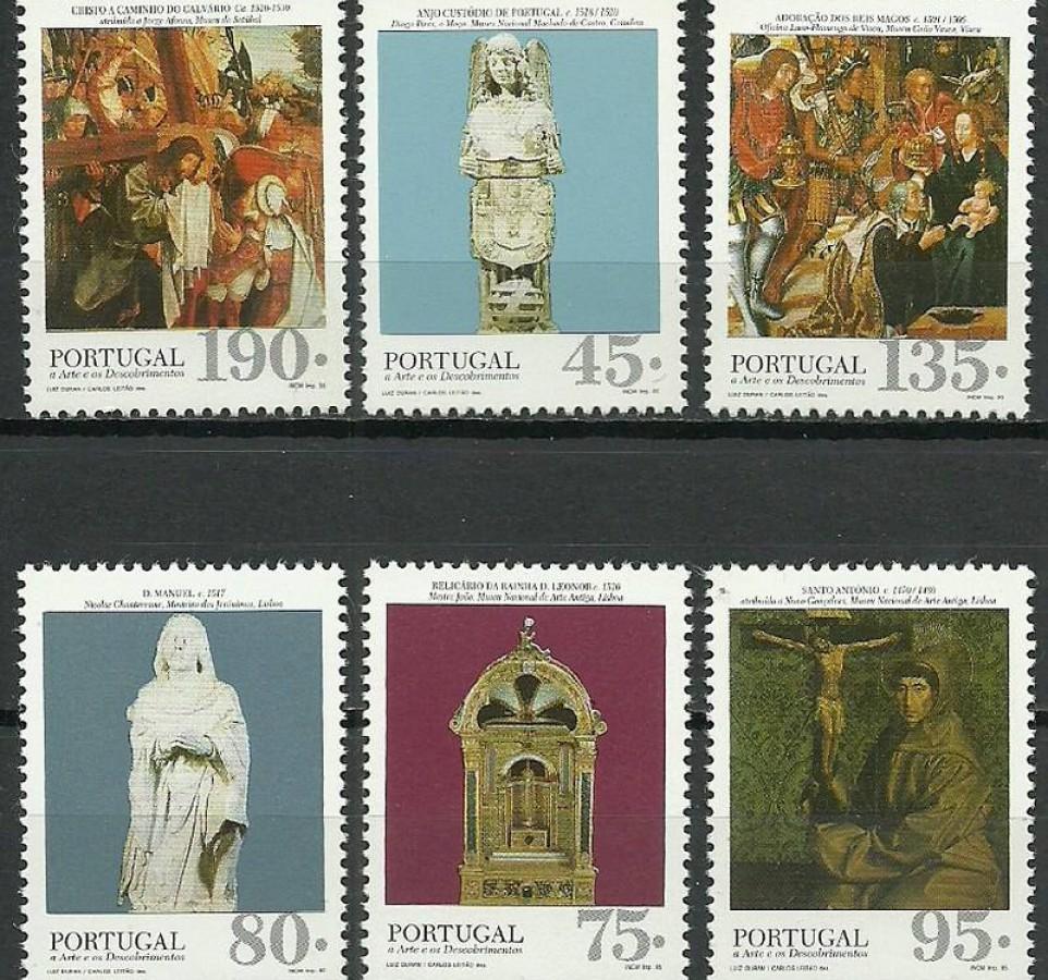 Portugalia 1995 Mi 2100-2105 Czyste **