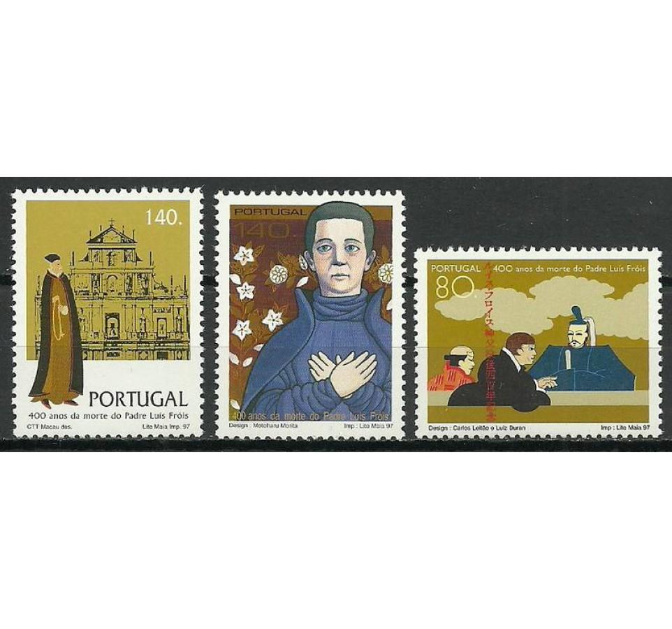 Portugalia 1997 Mi 2192-2194 Czyste **