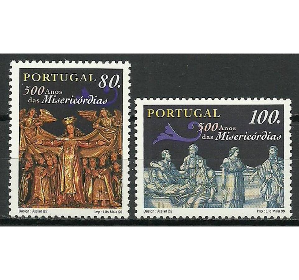 Portugalia 1998 Mi 2235-2236 Czyste **