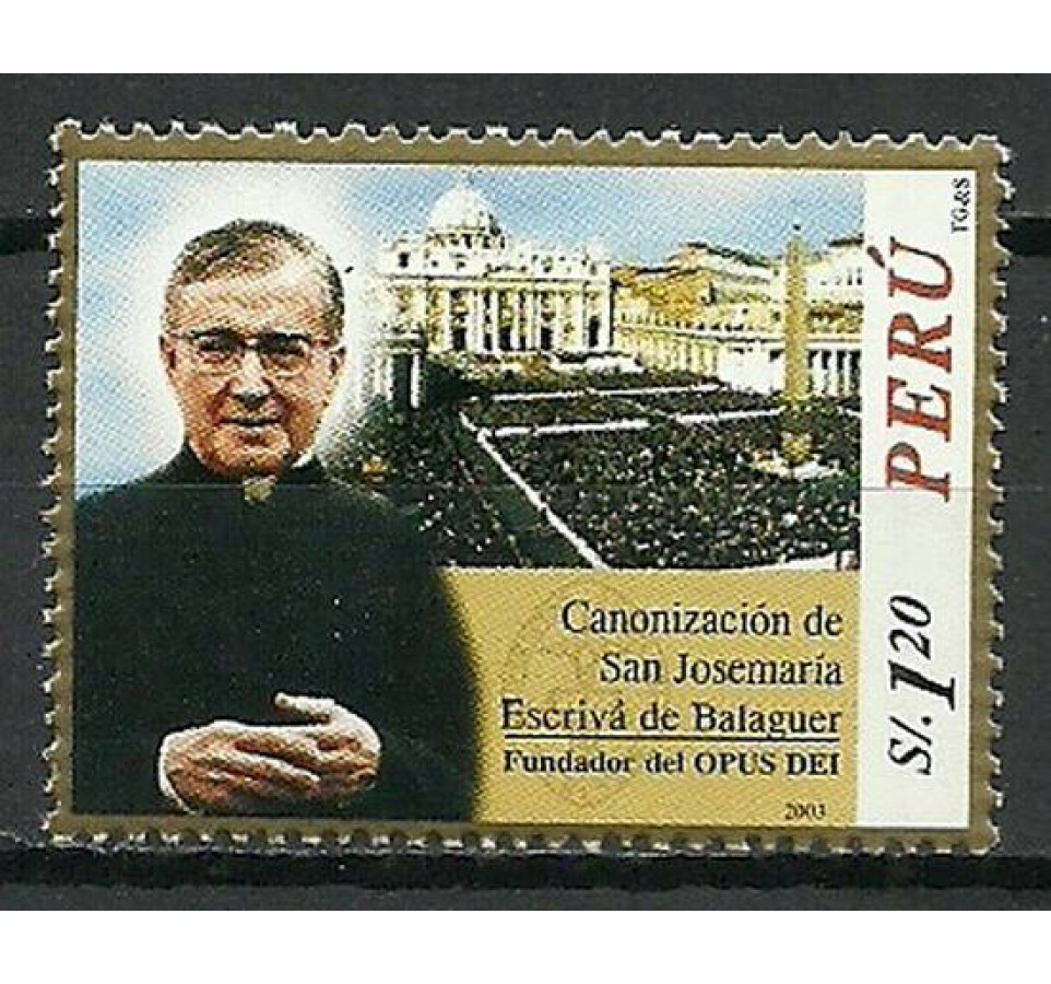 Peru 2003 Mi 1849 Czyste **