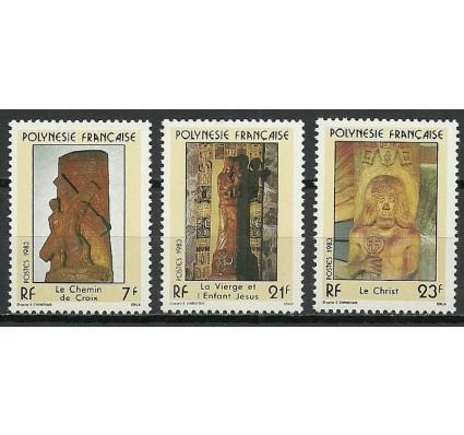Znaczek Polinezja Francuska 1983 Mi 372-374 Czyste **