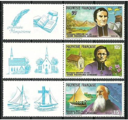 Znaczek Polinezja Francuska 1987 Mi zf 492-494 Czyste **