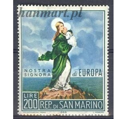Znaczek San Marino 1966 Mi 879 Czyste **