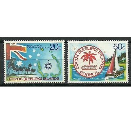 Znaczek Wyspy Kokosowe / Keelinga 1979 Mi 32-33 Czyste **
