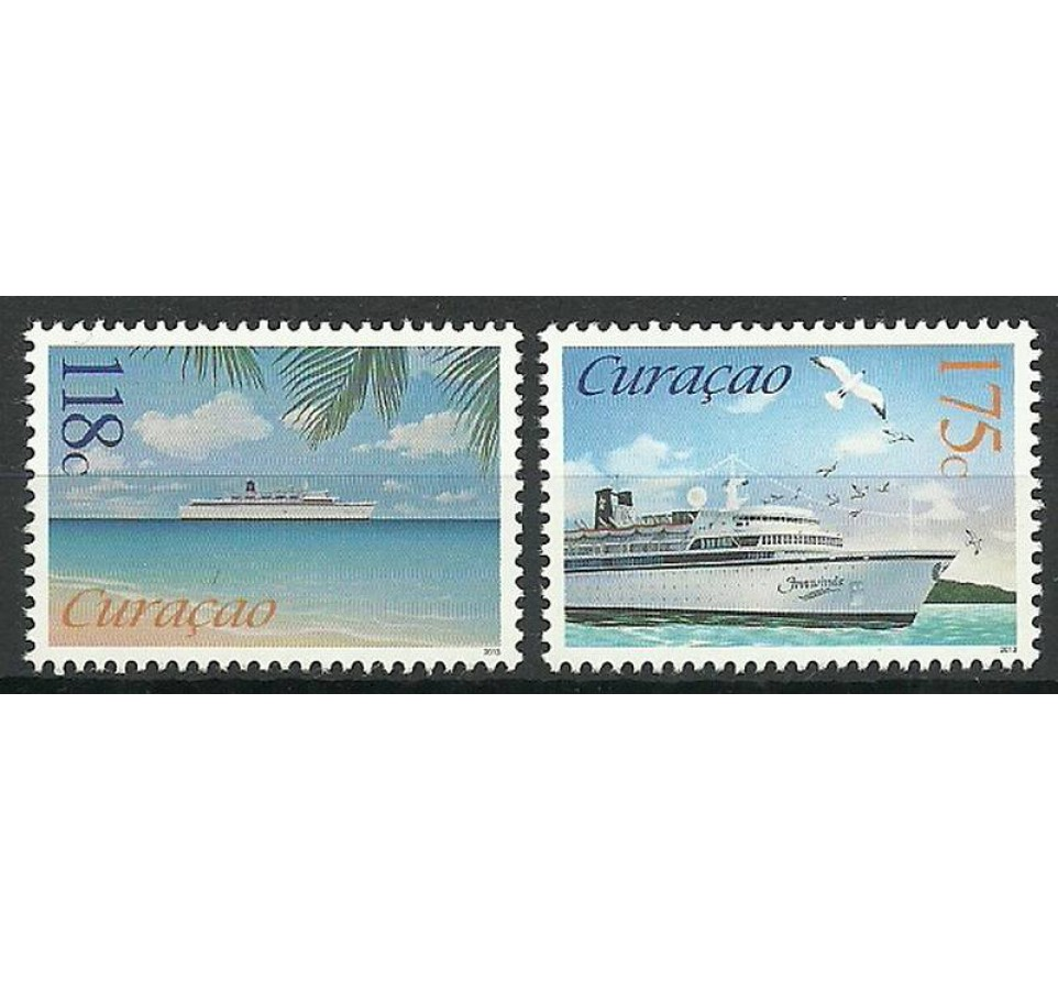 Curacao 2013 Mi 172-173 Czyste **