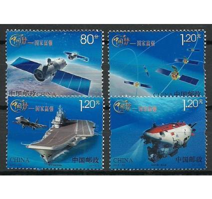 Znaczek Chiny 2013 Mi 4527-4530 Czyste **