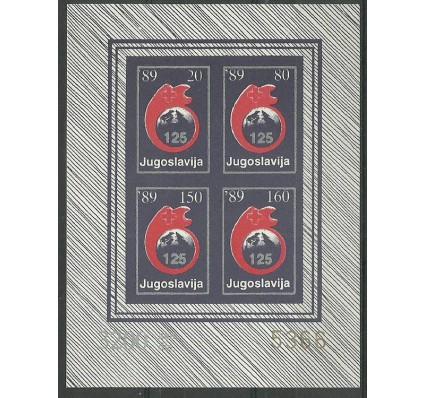 Znaczek Jugosławia 1988 Mi zwa ark 166-169B Czyste **