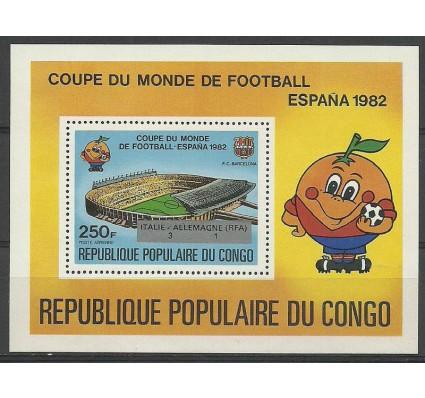 Znaczek Kongo 1982 Mi bl 32 Czyste **