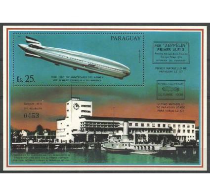 Znaczek Paragwaj 1981 Mi bl 371 Czyste **