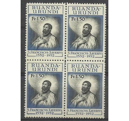 Znaczek Ruanda - Urundi 1952 Mi 132 Czyste **