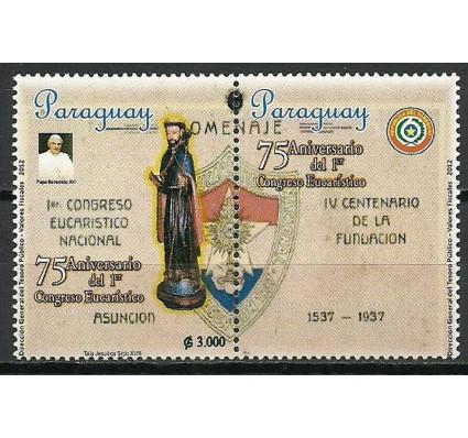 Znaczek Paragwaj 2012 Mi zf 5166 Czyste **