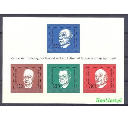 Niemcy 1968 Mi bl 4 Czyste **