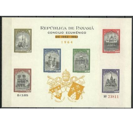 Znaczek Panama 1964 Mi bl 23Ba Czyste **