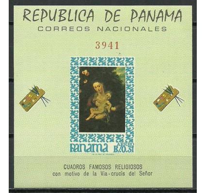 Znaczek Panama 1967 Mi bl 67 Czyste **
