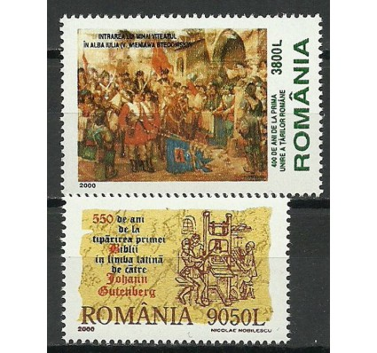 Znaczek Rumunia 2000 Mi 5494-5495 Czyste **
