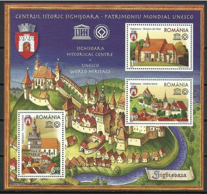 Znaczek Rumunia 2009 Mi bl 448 Czyste **