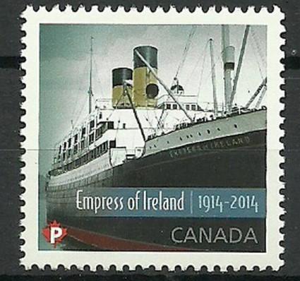 Znaczek Kanada 2014 Mi 3124 Czyste **