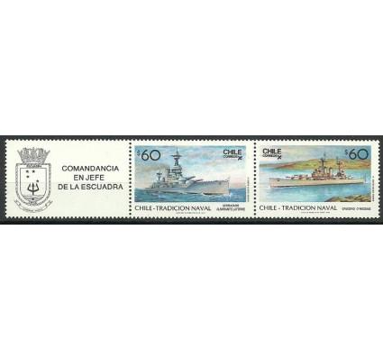 Znaczek Chile 1987 Mi 1183-1184 Czyste **