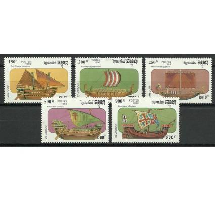 Znaczek Kambodża 1993 Mi 1366-1370 Czyste **