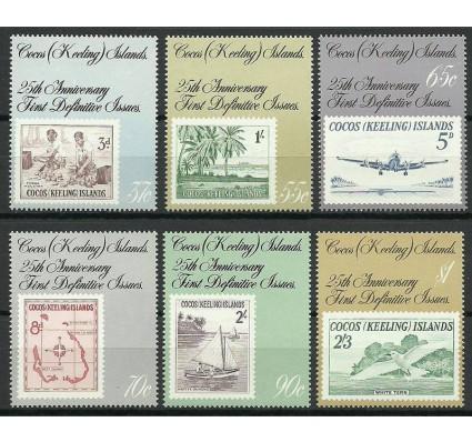 Znaczek Wyspy Kokosowe / Keelinga 1988 Mi 192-197 Czyste **