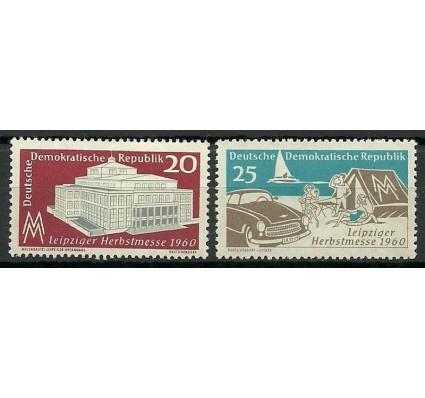 Znaczek NRD / DDR 1960 Mi 781-782 Czyste **