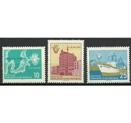 Znaczek NRD / DDR 1962 Mi 898-900 Czyste **