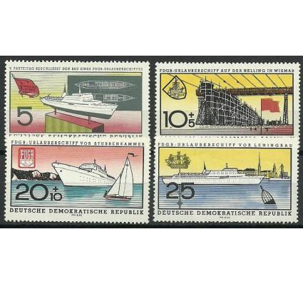 Znaczek NRD / DDR 1960 Mi 768-771 Z podlepką *