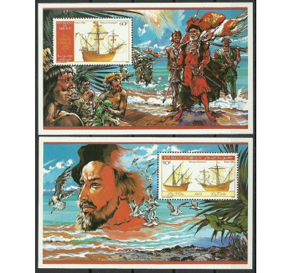 Znaczek Dżibuti 1986 Mi bl 124-125 Czyste **