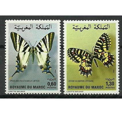 Znaczek Maroko 1981 Mi 968-969 Czyste **