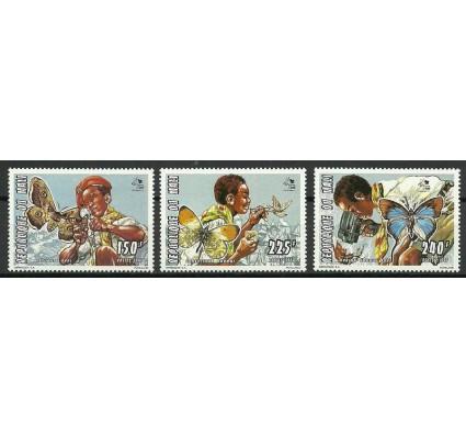 Znaczek Mali 1995 Mi 1351-1353 Czyste **