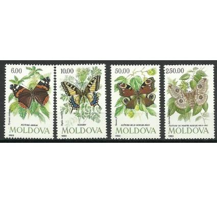 Znaczek Mołdawia 1993 Mi 77-80 Czyste **