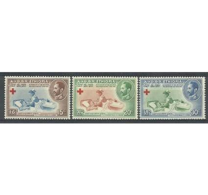 Znaczek Etiopia 1955 Mi 334-336 Czyste **