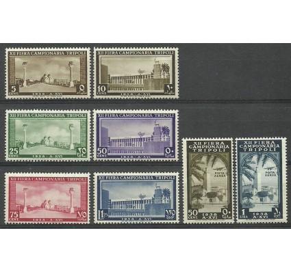 Znaczek Libia Włoska 1938 Mi 257-264(Tripoli) Czyste **